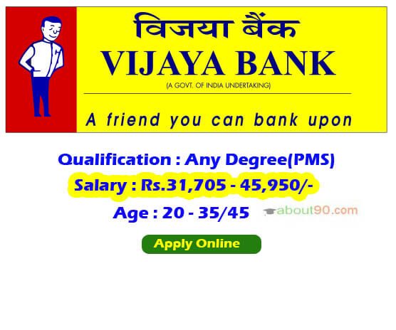 vijaya-bank Vijaya Bank Application Form on hdfc bank, karnataka bank, uco bank, andhra bank, corporation bank, canara bank, icici bank, dena bank, idbi bank, syndicate bank, punjab national bank,