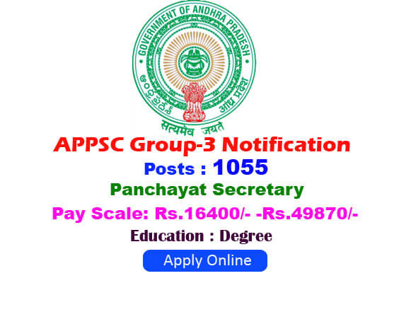 APPSC Group 3 Notification