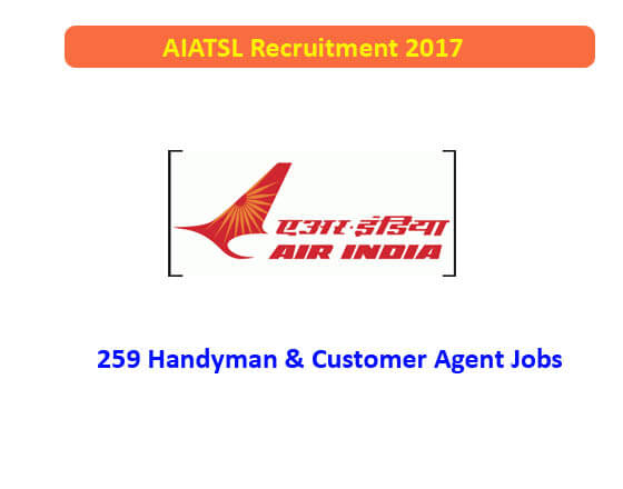 AIATSL Recruitment 2017