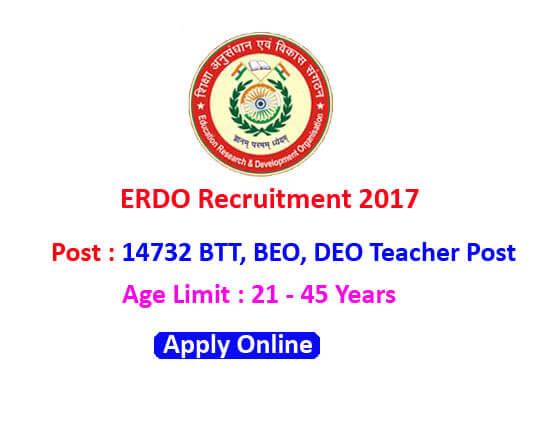 ERDO teacher posts