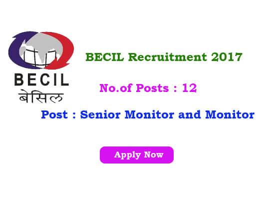 BECIL jobs