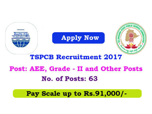 TSPCB Recruitment 2017