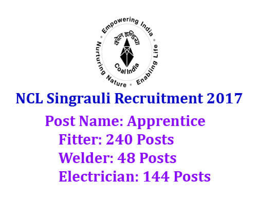 NCL Singrauli Recruitment