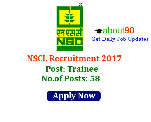 NSCL recruitment 2017
