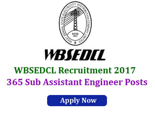 WBSCDCL Recruitment 2017