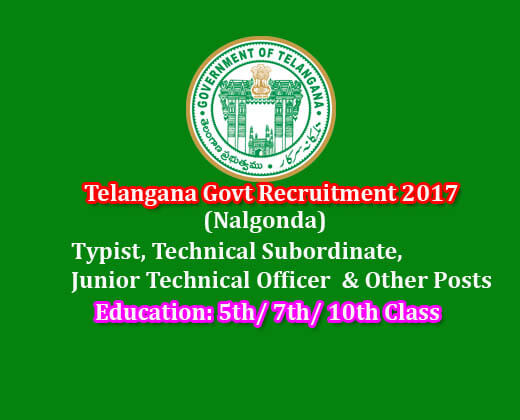 nalgonda recruitment