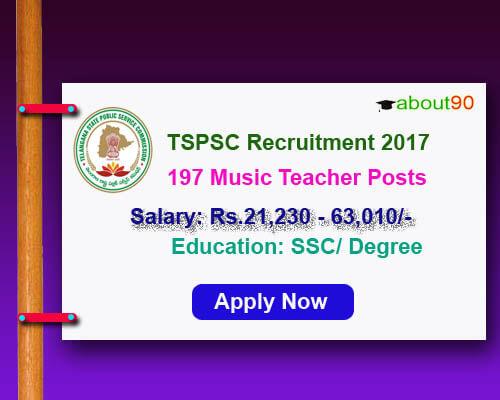 TSPSC Music Teacher