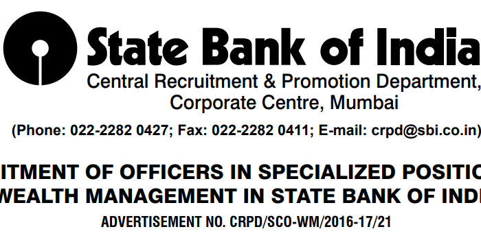 SBI Specialist Officers Results