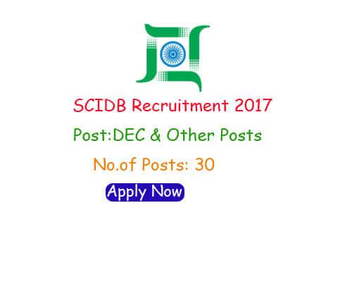 SCIDB Recruitment