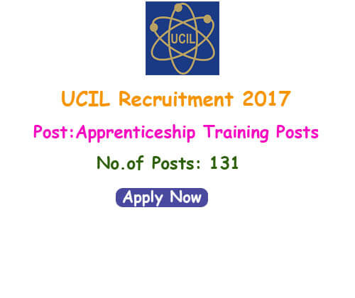 UCIL Recruitment 2017