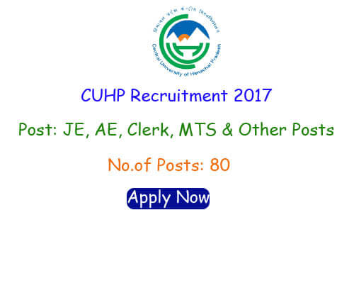 CUHP Recruitment