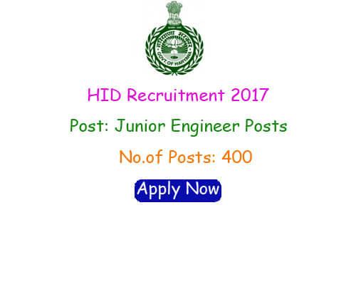 Haryana Irrigation Department Recruitment