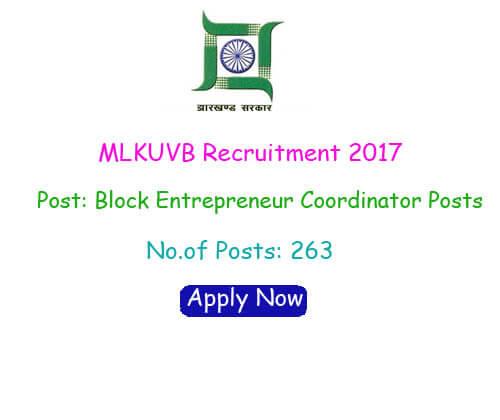 MLKUVB Recruitment