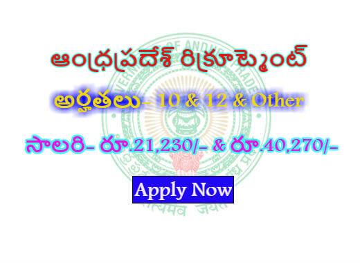 DMHO Kurnool Recruitment