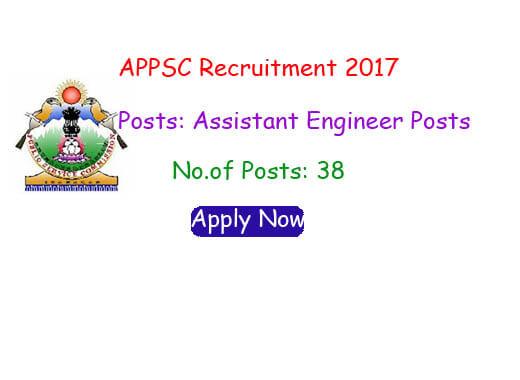 APPSC Recruitment 2017