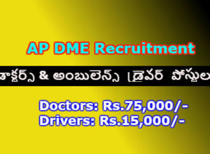 AP Govt Jobs Recruitment 2017