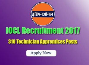 IOCL Recruitment Notification 2017