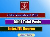 ONGC Apprentice Recruitment 2017
