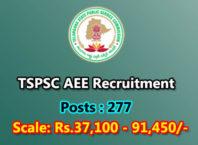 TSPSC AEE Recruitment 2017