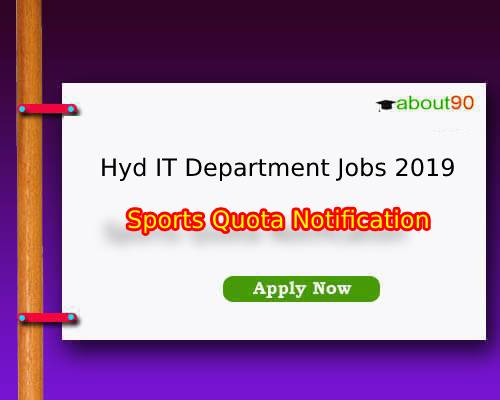 Hyd Income Tax Department Jobs 2019
