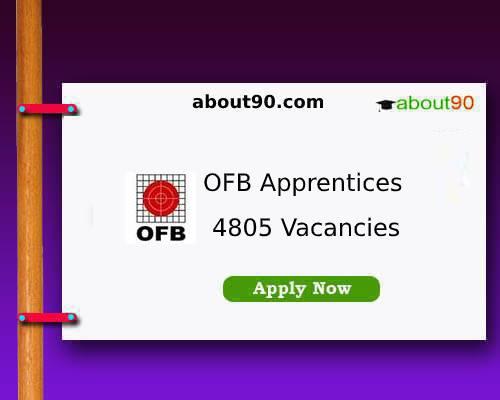 OFB Apprentice Recruitment 2019